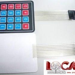 Manutenção em teclado de membrana