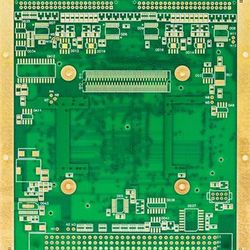 Circuito impresso simples